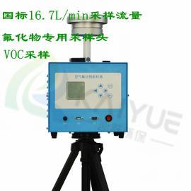 智能恒流16.7L/min空气氟化物采样器