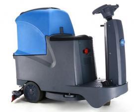 工厂车间用小型驾驶式洗地机T-70地面清理用洗地吸干机
