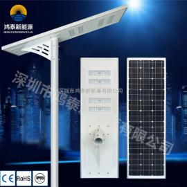 9米80W太阳能LED灯太阳能光控灯 太阳能庭院灯 太阳能一体化路灯