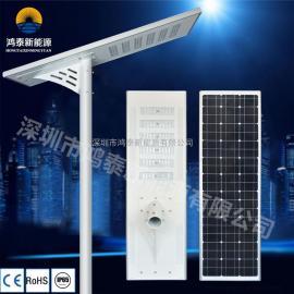 100W高光效一体化太阳能路灯