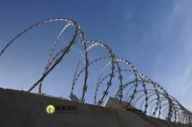 钢筋混凝土防护栅栏刀刺滚笼