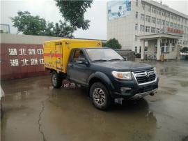 东风皮卡爆破器材运输车半吨载重四驱动矿用选择