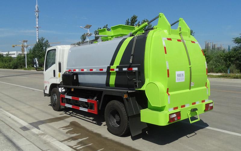 可定制渣水分离的泔水收集车,
