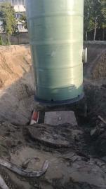 地埋式抗浮一体化预制泵站