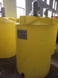 沃利克品牌 碱加药系统 带搅拌机和计量泵