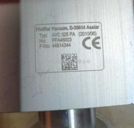 出售及维修pfeiffer AVC025PA普发真空角阀