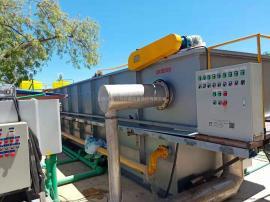 香肠加工废水处理就选中科贝特溶气气浮机 处理达标排放
