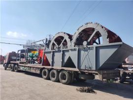每小时水洗200吨的山沙洗沙机 山沙制砂洗沙机械厂