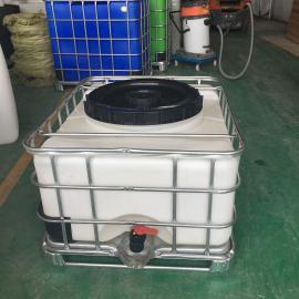 定制0.5T大口径IBC周转桶运输桶包装桶滚塑一次成型