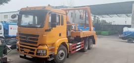 5立方摆臂式垃圾车/5吨摆臂式垃圾车参数配置报价