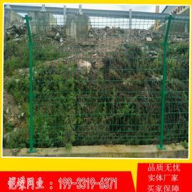 球场高速公路双边框架铁丝护栏网 现货圈地养殖框架护栏网
