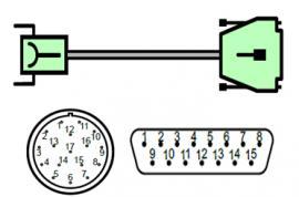 海德汉/西门子公用电缆插头ID324544-XX