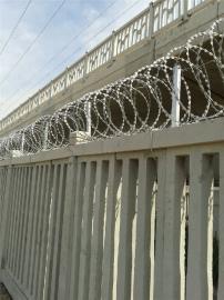 高铁加高刺丝滚笼防护栅栏