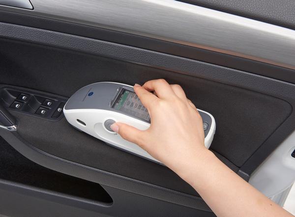 柯尼卡美能达CM-25cG分光测色仪,汽车内饰件专用测色仪