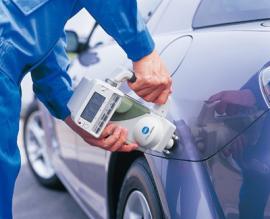 比亚迪汽车,BYD汽车,汽车外喷涂、外涂装专用多角度分光测色仪