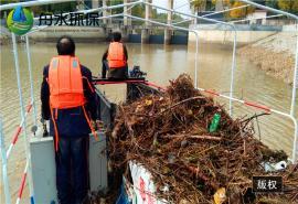 全自动水葫芦打捞船的特点 保洁船造价出租