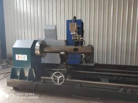 管桁架加工设备,桁架煤棚钢结构相贯线切割机
