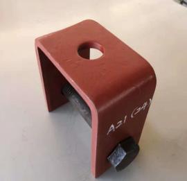 管道支吊架组件倒U型吊耳化工HG/T21629管架标准A21倒U型吊耳