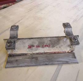 J2(管夹型)T型管托HG/T21629-1999标准不锈钢T型管托J2管托