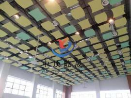 降噪板 冲孔吸声板 吊顶天花板 岩棉玻纤板 吸音天花板 垂片