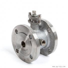 BQ41F高性能不锈钢保温球阀法兰温控直通式国标单向手动球阀常压