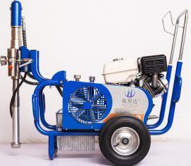 大流量腻子喷涂机设备 大型腻子粉喷涂机可喷 腻子粉 腻子