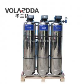 1T全自动不锈钢中央净水设备 小型宾馆地下水除浊去黄除水垢设备