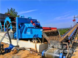 机制砂生产线图片 机制砂生产线工艺流程