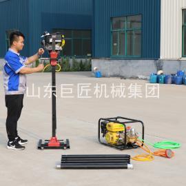 畅销BXZ-2L背包勘探钻机小型便携式取芯钻机扭矩大