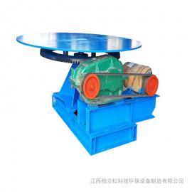 齿轮传动圆盘给料机 座式喂料机 机型小省空间给料设备