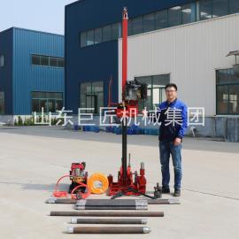 巨匠集团QZ-3型地质钻探取芯钻机轻便勘察钻机柴油动力扭矩大