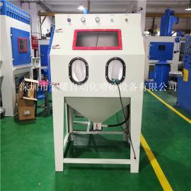 9080小型喷砂机 环保箱式喷砂设备 小型玻璃制品喷砂机
