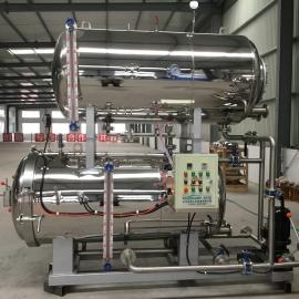 全自动不锈钢高温高压杀菌锅 肉制品加工厂专用杀菌锅
