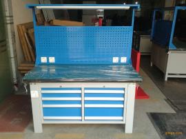 省模不�P�桌面工作桌 三工位�b模工作桌 ����F板工作桌