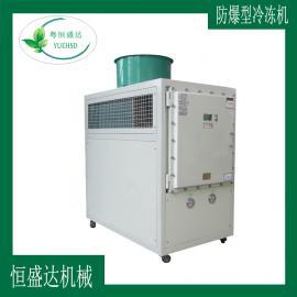 低温低噪音防爆冷水机组3匹HSD-3A-EP