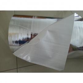 现货大型机械防潮铝塑编织膜铝箔复合编织布铝膜编制布
