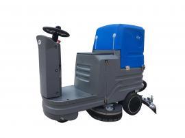 优耐施驾驶式洗地机工厂工业车间商用擦地机车库超市用擦地机