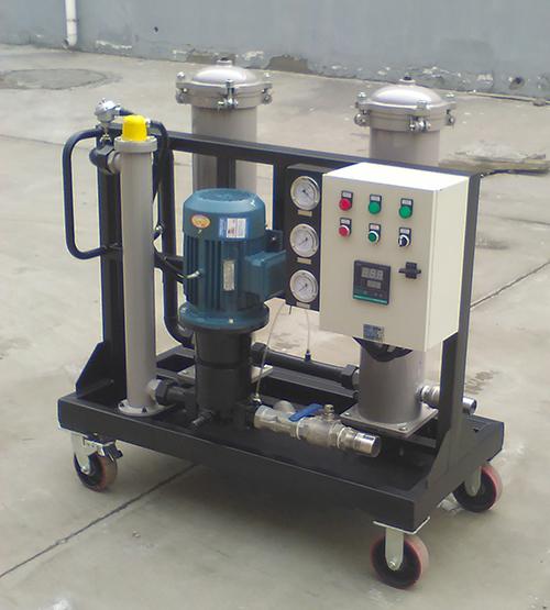 过滤器GLYC-100u汽轮机油不锈钢高粘油滤油机