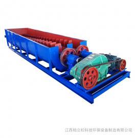 柏立松刀片式单双轴洗矿机 洗砂设备