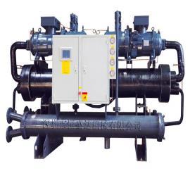 200匹双机头螺杆式冷水机组功率150KW选型HSD-200WS