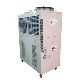 恒盛达机械HSD-3A风冷式冷水机3匹水冷却循环机不锈钢降水温机