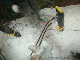 地基开挖破石头机器胀石机