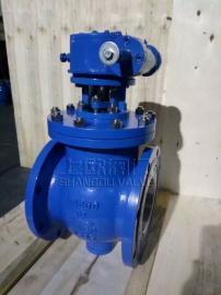 Q347型蜗轮手动偏心半球阀PN16~PN25升级产品