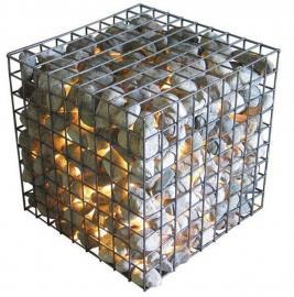 河道护坡用锌铝合金石笼网、石笼网箱,热镀锌石笼网