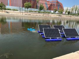 太阳能喷泉曝气机 RSUN-PQ节能曝气机