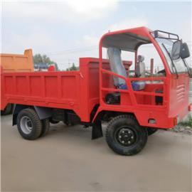 四不像工程车 柴油四轮车拖拉机 四轮自卸车 后双轮翻斗车022