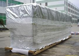 大型设备出口防潮铝箔袋激光切割机防潮出口包装立体袋