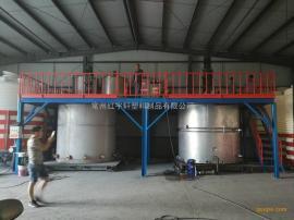 红宇轩10吨聚羧酸常温母液合成设备外加剂复配设备