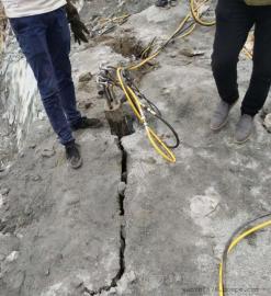 高效率天然石材开采液压劈裂机