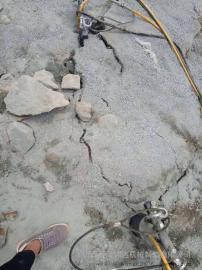 地基改造开挖玄武石劈裂棒